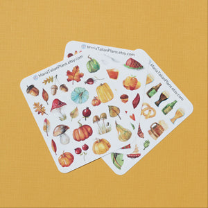 Autumn Deco Stickers