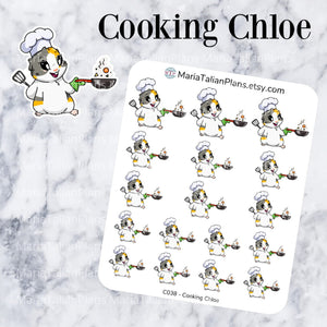 Cooking Chloe | Guinea Pig Stickers
