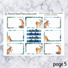 Load image into Gallery viewer, Amplify Planner Daily kit - Woodland Winter