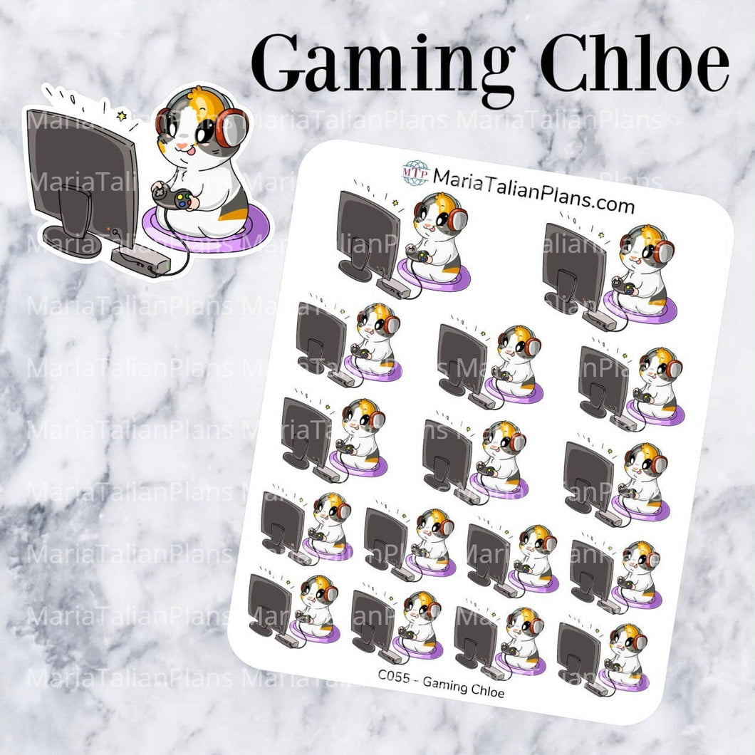 Gaming Chloe | Guinea Pig Stickers