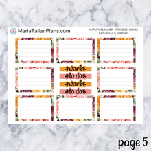 Load image into Gallery viewer, Amplify Planner Daily kit - Floral