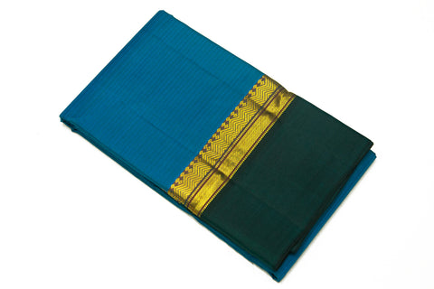 17047 Emerlan Blue with Dark Green Border