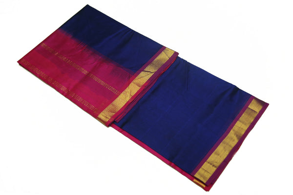 6033 Maroon with Blue Border