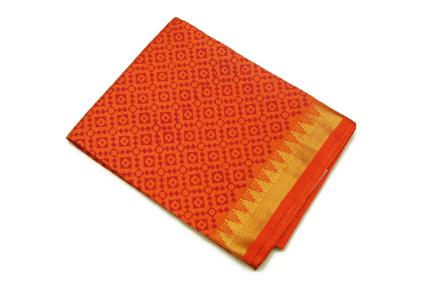 6080 Hot Orange with Self Border