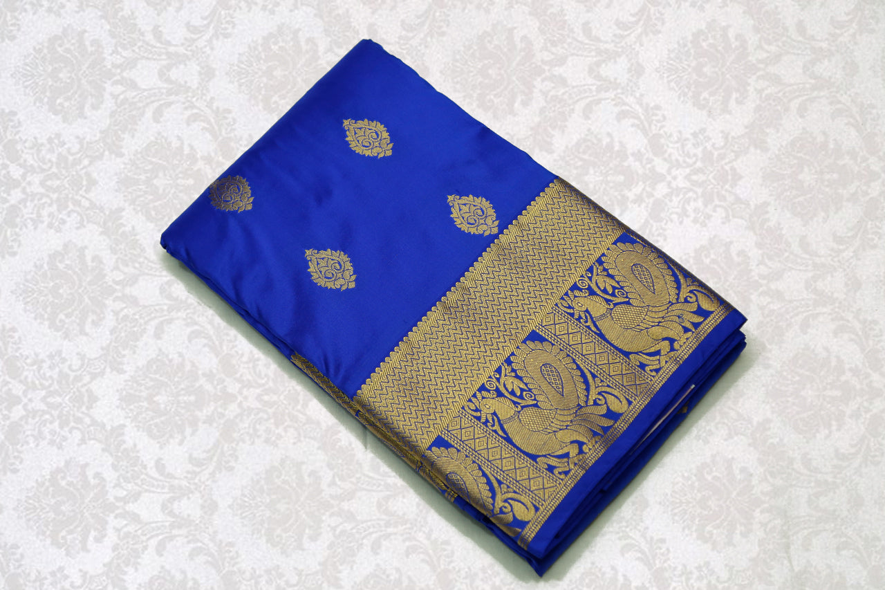 37739 Royal Blue with Self border
