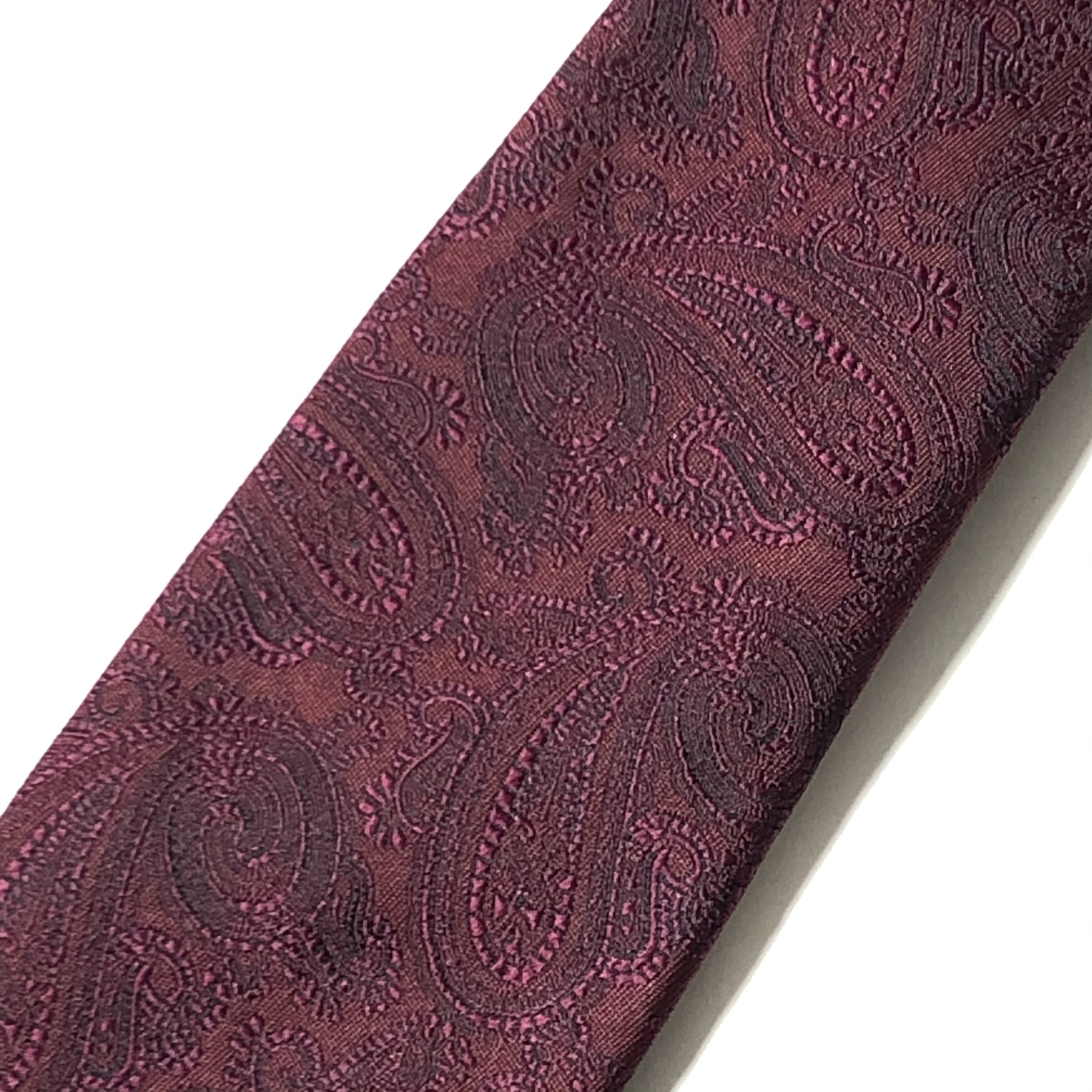 KYOTO WASHABLE SHADOW PAISLEY TIE