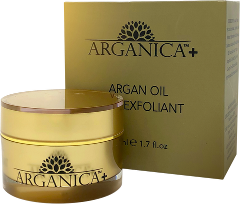 100 % Moroccan Argan Oil Anti-Inflammatory Face Exfoliant Scrub For A Flawlessly Fresh Appearance
