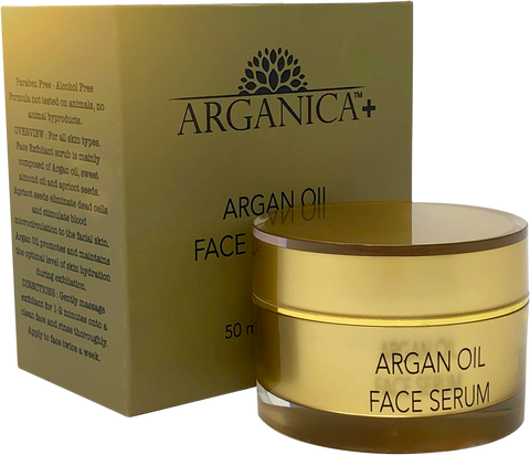 100% Pure Argan Oil Revitalizing Night Routine Face Serum For Radiant Skin