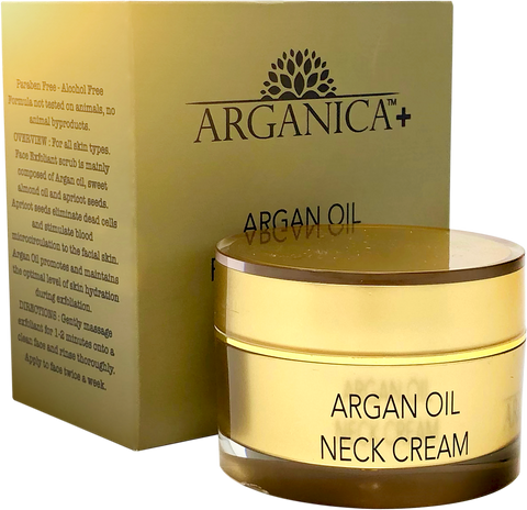 100% Moroccan Argan Oil Firming Neck Cream For Anti-Aging
