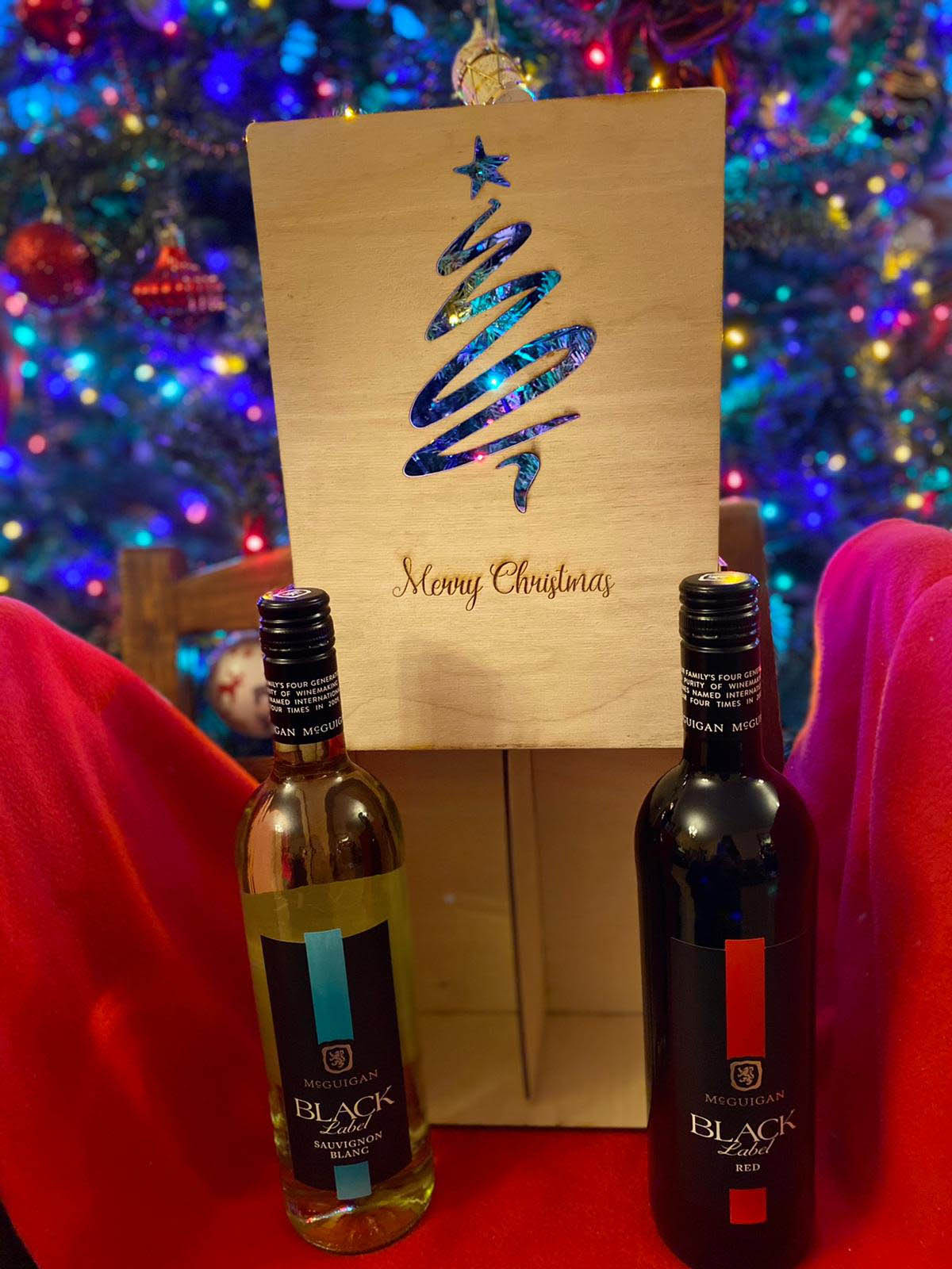 Personalised Double Gift Box wine / spirits