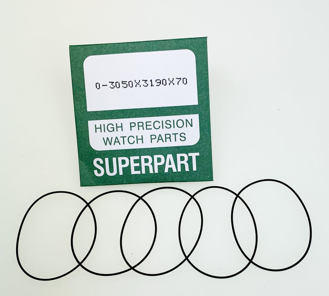 O-Ring Gasket 0.80 mm Thick (5 Envelopes, 5 Gaskets Per Envelope)
