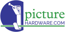 1/4 inch Offset Clips used to attach artwork to a picture frame. | Picture Hardware