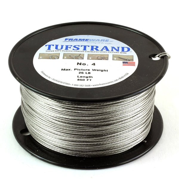 #4 Plastic Coated Wire- Spool