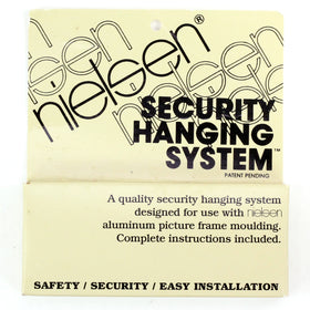 SC15 - 25 Pack - Nielsen Security Hanging System - Bulk
