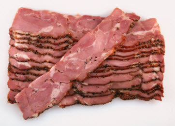 Peppered Turkey Bacon