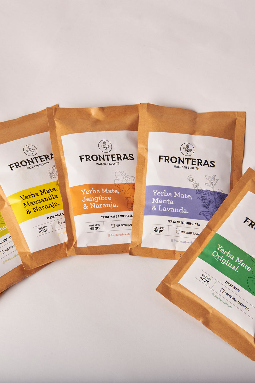 Mix de Yerbas Fronteras Blends