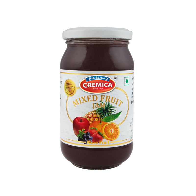 CREMICA MIXED FRUIT JAM 250G