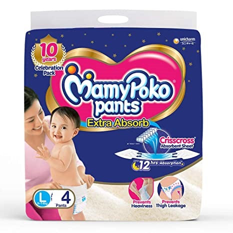 MAMYPOKO PANTS EXTRA ABSORB (L 4)