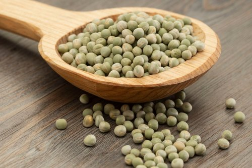 GREEN PEAS DRY 500 GM