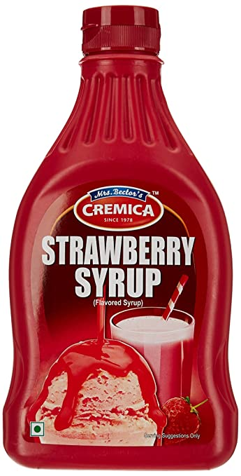 CREMICA STAWBERRY SYRUP 300G