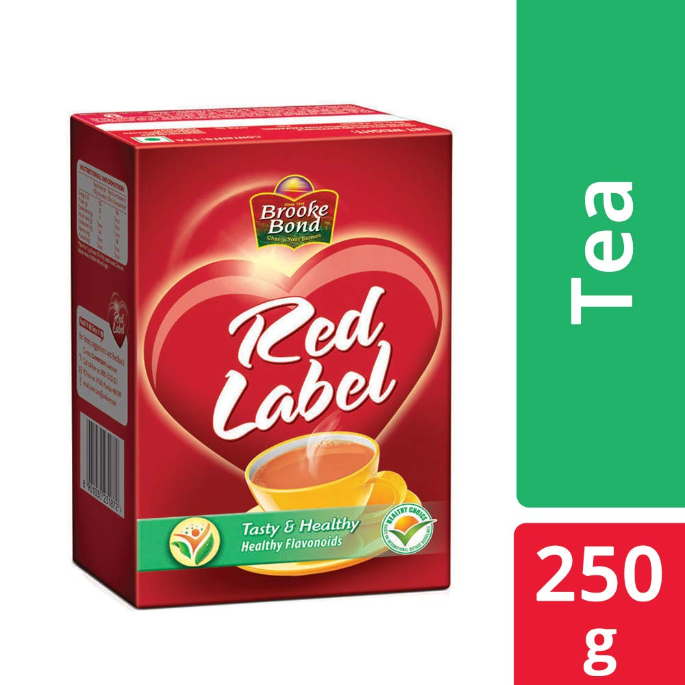 BROOKE BOND RED LABEL TEA 250GM