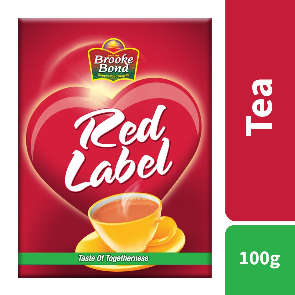 BROOKE BOND RED LABEL TEA 100GM