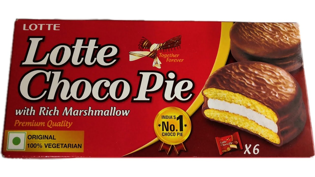 LOTTE CHOCO PIE 168G (6 PACKS*28G EACH)