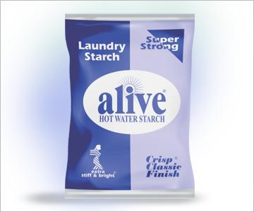ALIVE HOT WATER STARCH FABRIC STIFFNER 200G
