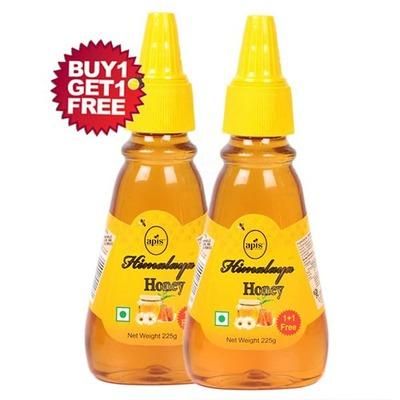 APIS HIMALAYA HONEY 225G (BUY 1 GET 1 FREE)