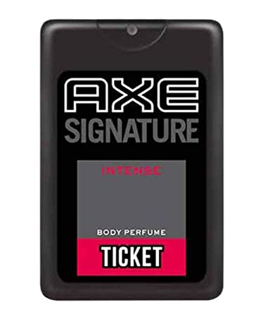 AXE SIGNATURE BODY PERFUME TICKET  17ML