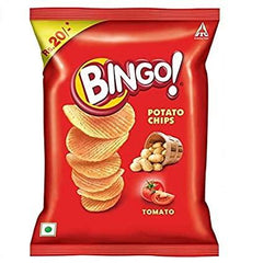 BINGO POTATO  TOMATO CHIPS 52G