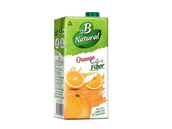 B NATURAL ORANGE 1L(PCK)