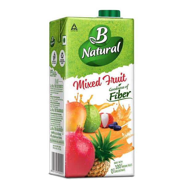 B NATURAL MIXED FRUIT  1L(PCK)