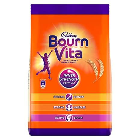 CADBURY BOURNVITA  HEALTH DRINK 500G POUCH