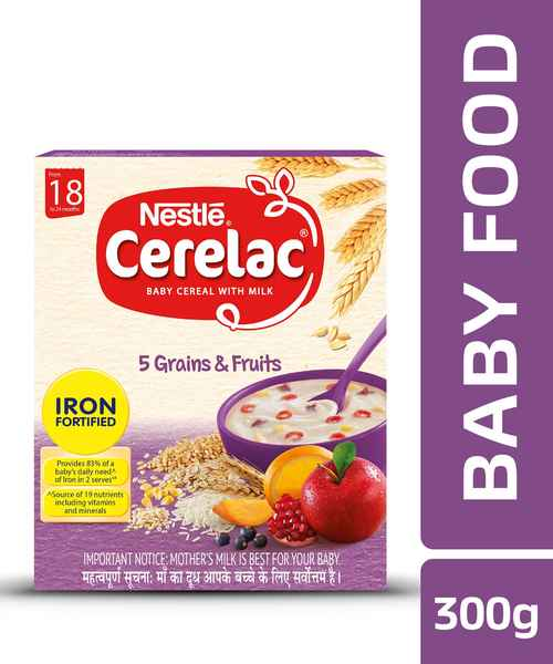 CERELAC 5 GRAINS&FRUITS 300G