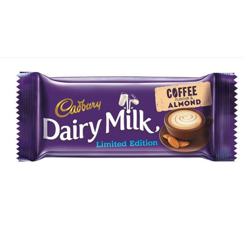 CADBURY DAIRY MILK LIMITED EDITION COFFEE&ALMOND CHOCOLATE 36G