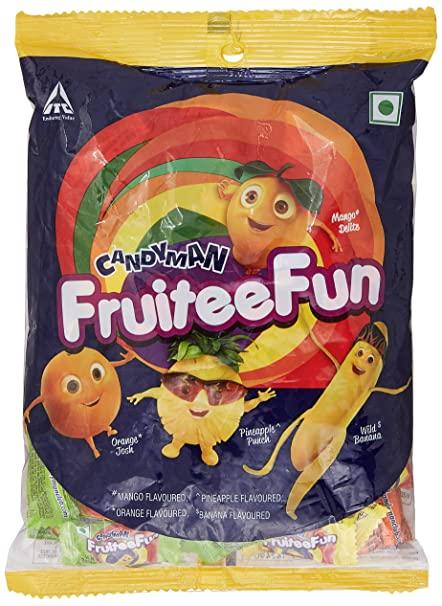 CANDYMAN FRUITEEFUN CANDIES 280G(100 UNITS*2.8G)