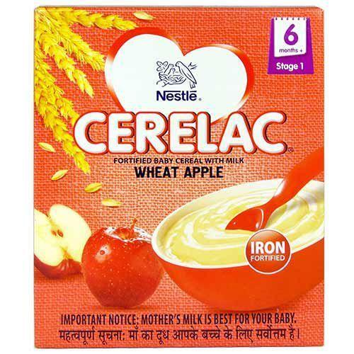 CERELAC WHEAT  APPLE  300G