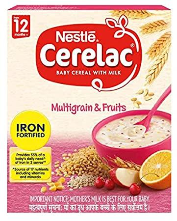 CERELAC  MULTI GRAIN &FRUITS 300G