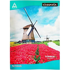 CLASSMATE NOTEBOOK/FOUR LINES WITH GAP/172 PAGES/SIZE 24*18 CM
