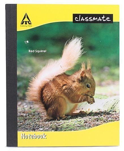 CLASSMATE  NOTEBOOK/92PAGES/SINGLE LINE/SIZE-19*15.5CM/SOFT COVER