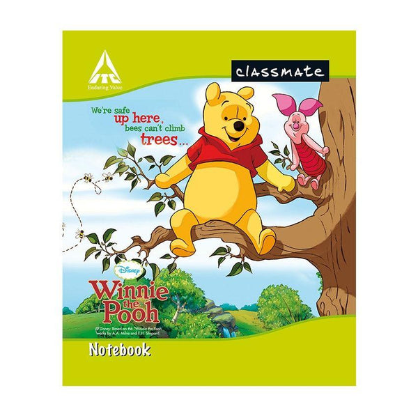 CLASSMATE NOTE BOOK/172PAGES/UNRULED/SIZE-19*15.5 CM/SOFT COVER