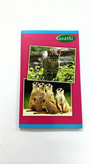 SAATHI NOTEBOOK/164PAGES/UNRULED/SIZE-24*18CM/SOFT COVER