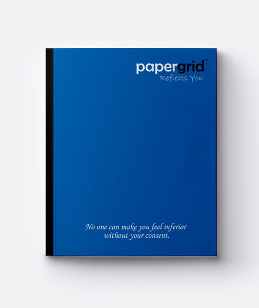 PAPERGRID NOTEBOOK/160 PAGES/SINGLE LINE/SIZE-24*18CM/SOFT COVER