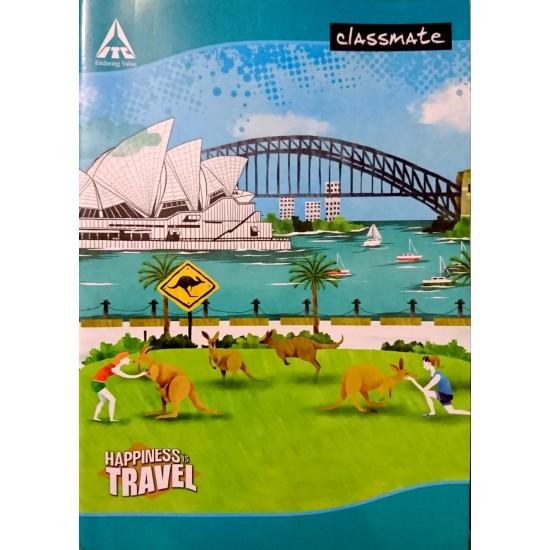 CLASSMATE  NOTEBOOK/240 PAGES/UNRULED/SIZE-29.7*21CM