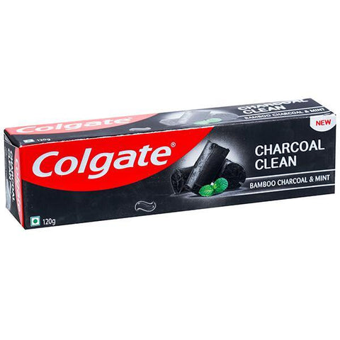 COLGATE  CHARCOAL CLEAN TOOTH PASTE 120G