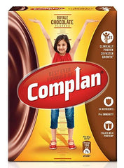 COMPLAN ROYAL CHOCOLATE FLAVOUR 500G  REFILL PACK(FREE-HOT WHEEL CAR)