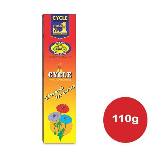 CYCLE 3 IN 1  AGARBATHI  110G