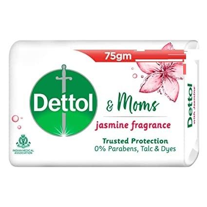 DETTOL &MOMS JASMINE BATH SOAP 75G