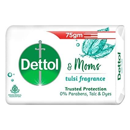 DETTOL &MOMS TULSI  BATH SOAP 75G